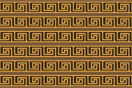 Abstract seamless pattern in Greek style for wide application in decoration and decoration of textiles, fabrics, packaging, for texture and embossing.
