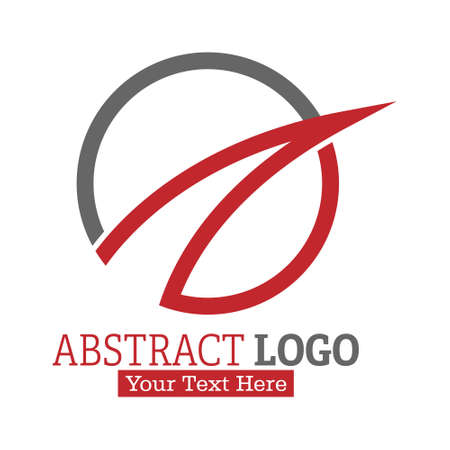 Abstract logo. Color vector illustration for logo, sticker or emblem