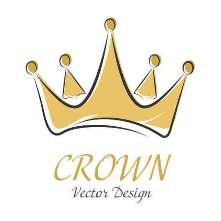 Ð¡rown. Simple vector illustration