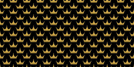 Ð¡rown. Seamless pattern for decoration, textiles, texture, packaging and simple backgrounds