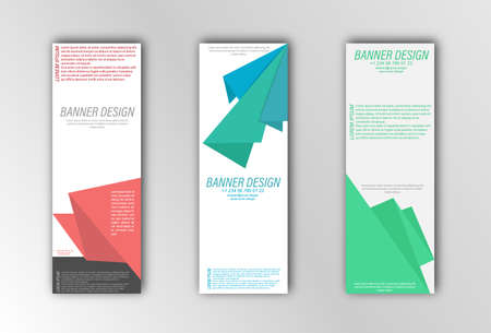 Illustration for the design of banners, posters, cards and visual content. Flat design