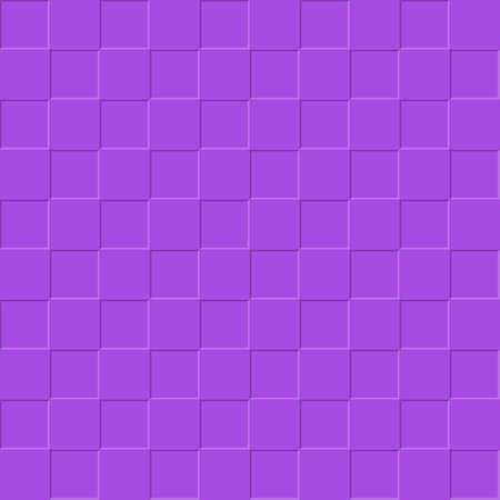 Violet background of square plates. Simple flat design for website design, banner, advertising, poster or flyer, for texture, textiles and packaging. Simple background.