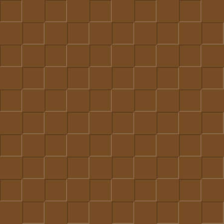 Brown background of square plates. Simple flat design for website design, banner, advertising, poster or flyer, for texture, textiles and packaging. Simple background.