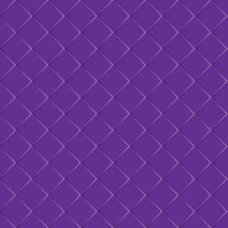 Purple seamless background of square plates. Simple flat design for website design, banner, advertising, poster or flyer, for texture, textiles and packaging. Simple background