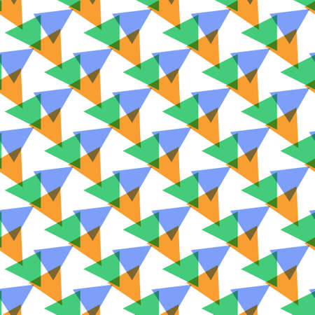 Seamless color geometric triangle pattern for texture, textiles, packaging, and simple backgrounds. Simple design.