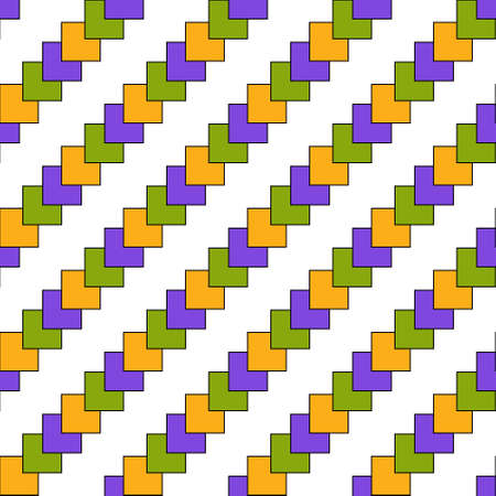 Seamless color geometric pattern of squares for texture, textiles, packaging, and simple backgrounds. Simple design.