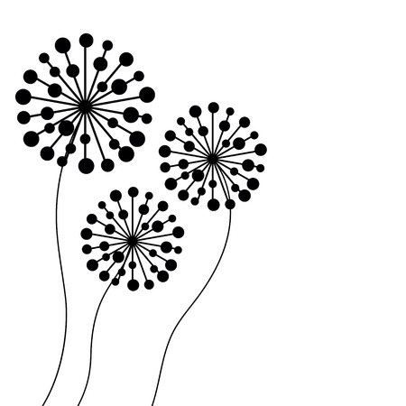 vector dandelion- Illustration