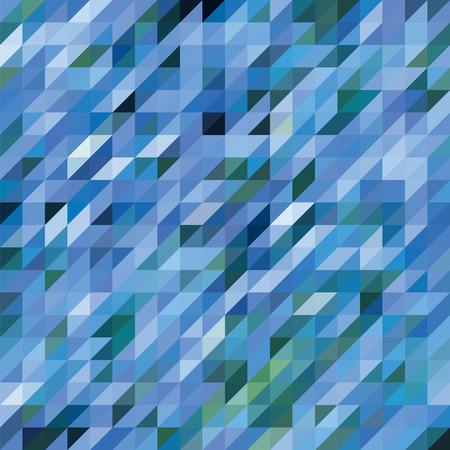 diamond shaped: Abstract geometric triangle seamless pattern Illustration