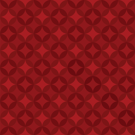 red circle:  Red Circle Pattern - Illustration Illustration