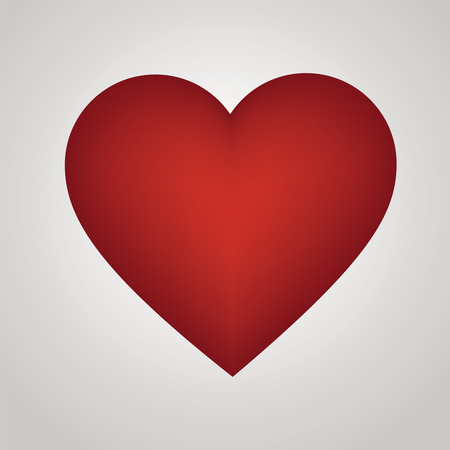 Red heart - Illustration