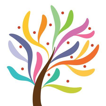 cultivating: fantastic tree - Illustration Illustration