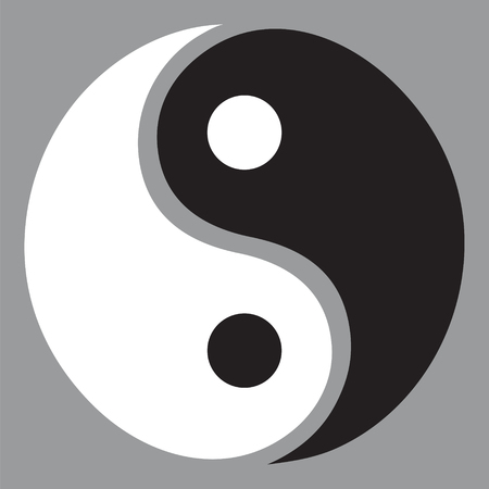 Yin Yang Symbol Illustration Royalty Free Cliparts Vectors And