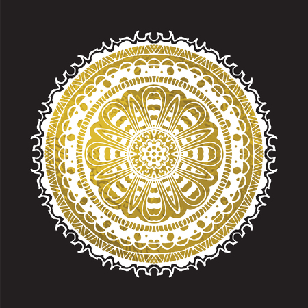 indian vector mandala.Geometric circle element vector. Kaleidoscope, medallion, yoga, india, arabic.