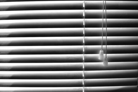 stripes striped window shuttering with light and shadows