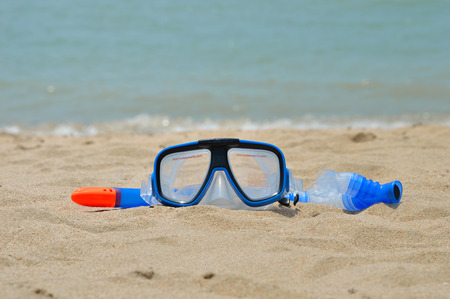 subsea: Snorkel gear by the sea