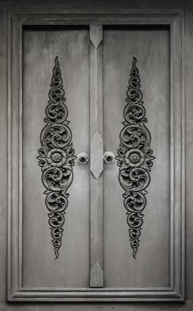 metaal: Antieke deuren Stockfoto