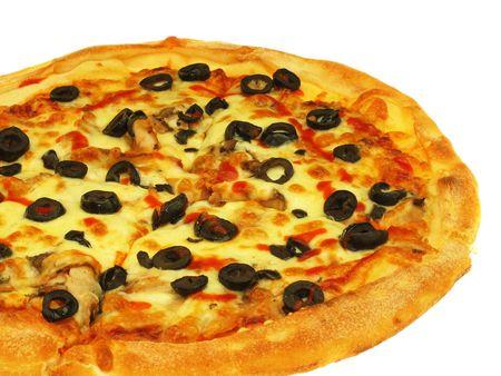 Delicious Pizza Stock Photo