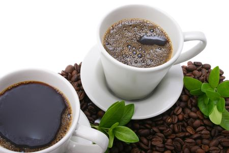 two cups of coffee Stock Photo - 422527