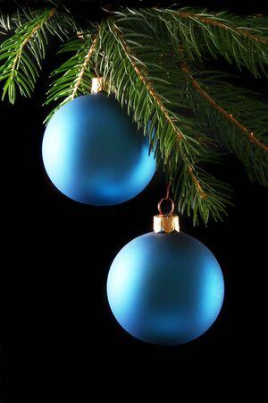 Dwie kulki christmas