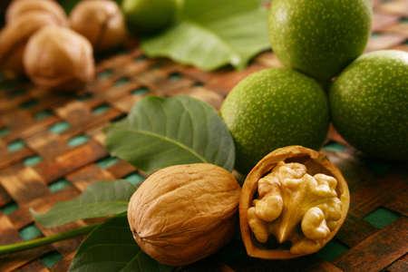 Still Live with walnut