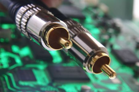 audiovisual: Cable for Digital Stereo  Hi Fi  System