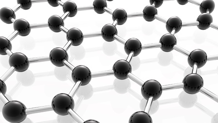 apprentice: network of molecules with black metal compounds
