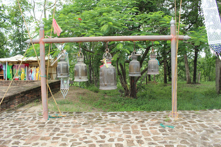 sonorous: Bells in Thailand Stock Photo