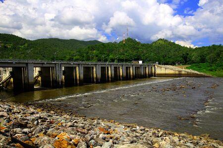 Bhumibol dam Part of Thailand