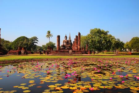 Sukhothai Historical Park, Sukhothai, Old Town, historic, civilization, history, Thailand Stock Photo