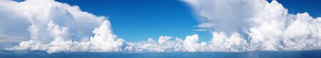 Panorama Sky and cloud  with rain fall  high resolution