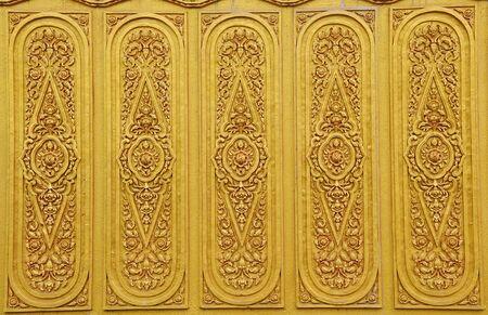 Texture art thai style on the wall,thailand  photo