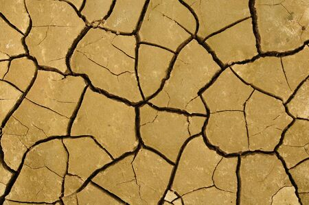 Crack soil on dry season, Global worming effect