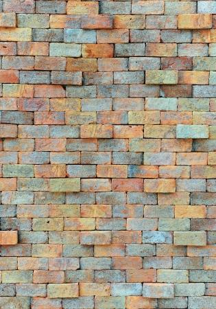 Parede de tijolo velha