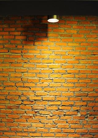 Art parede de tijolos fundo Banco de Imagens