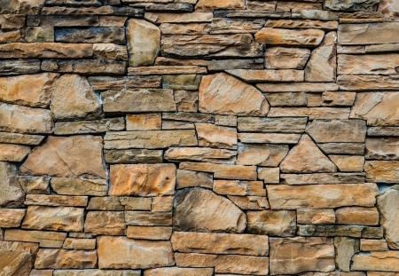 Parede de tijolos de pedra, fundo abstrato