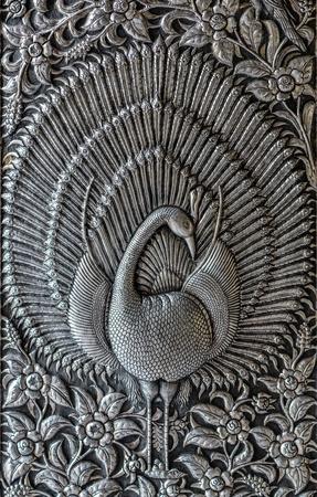 Gravura de prata arte