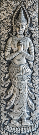 Silver engraving art background