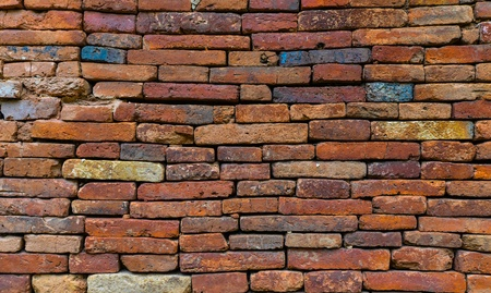 Stone brick wall, abstract background  Stock Photo