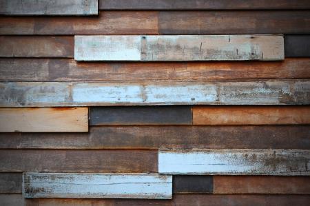 Abstract art grunge wood wall