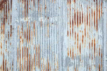 Old metal sheet roof texture. Pattern of old metal sheet. Metal sheet texture. Rusty metal sheet texture. Imagens