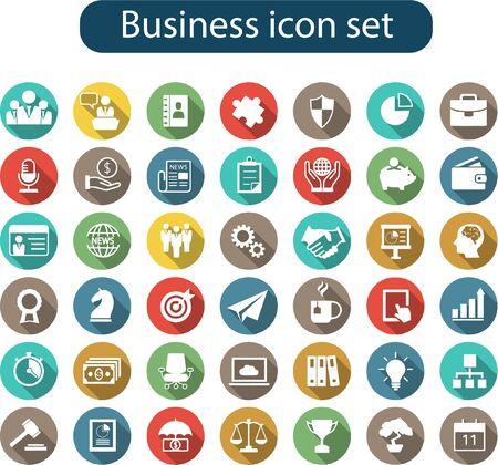 A big collection of multipurpose business icon set for all kind of business