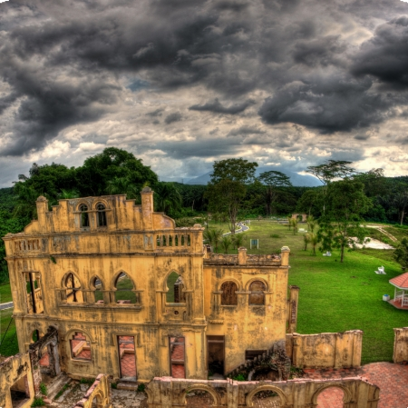 british army: Kelly s Castle, an old castle built by the British army in Malaysia