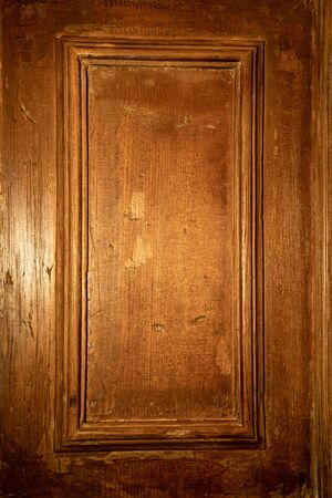 a fragment of a wooden door. the old surface. texture.