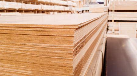 Hdf. High Density Fiberboard. Shop Building materials Standard-Bild