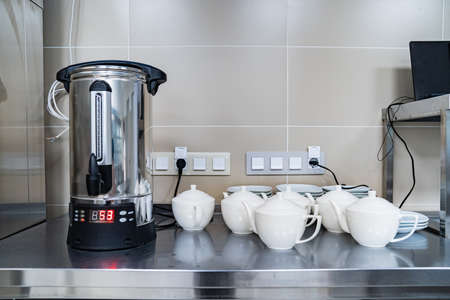 Thermopot is an electric heating household appliance for drinks.