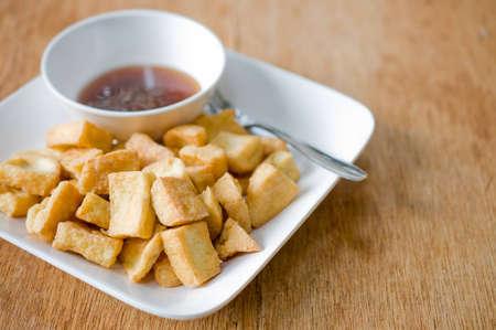 bean curd: Fried Bean Curd Food