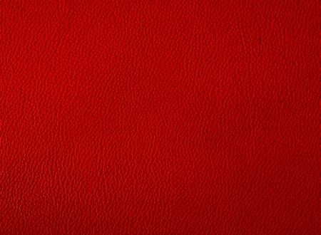 Red color leather background