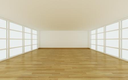 Empty room for decorate design