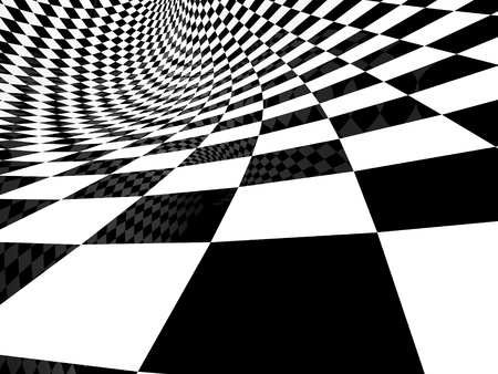 checker back and white pattern photo