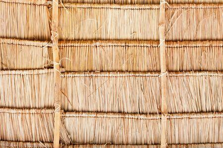 Vetiver Grass Roof detail